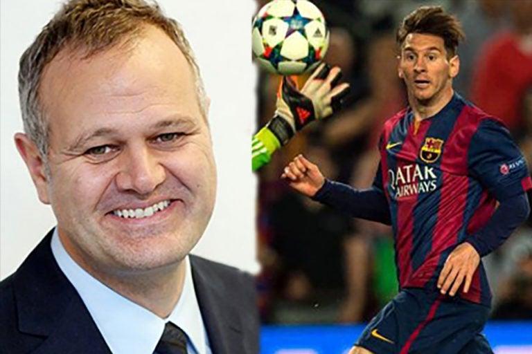 El noble gesto de Messi con Paul Hayward, periodista con cáncer