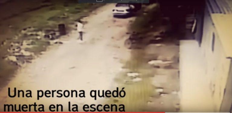 Vídeo de cómo mataron a tres personas en Las Palmas de SPS