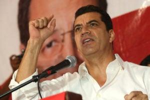 """Elvin Santos: """"No le temo a la reelección presidencial""""."""