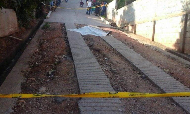 Matan a un hombre en Colonia Los Pinos de Tegucigalpa