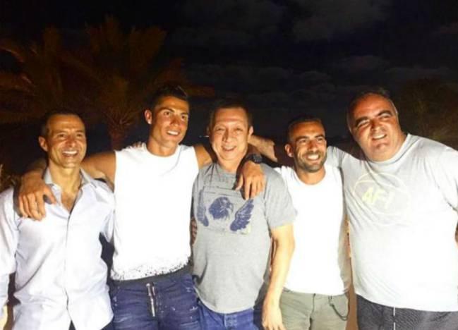 Cristiano Ronaldo cenó junto al dueño de otro equipo de España en Ibiza