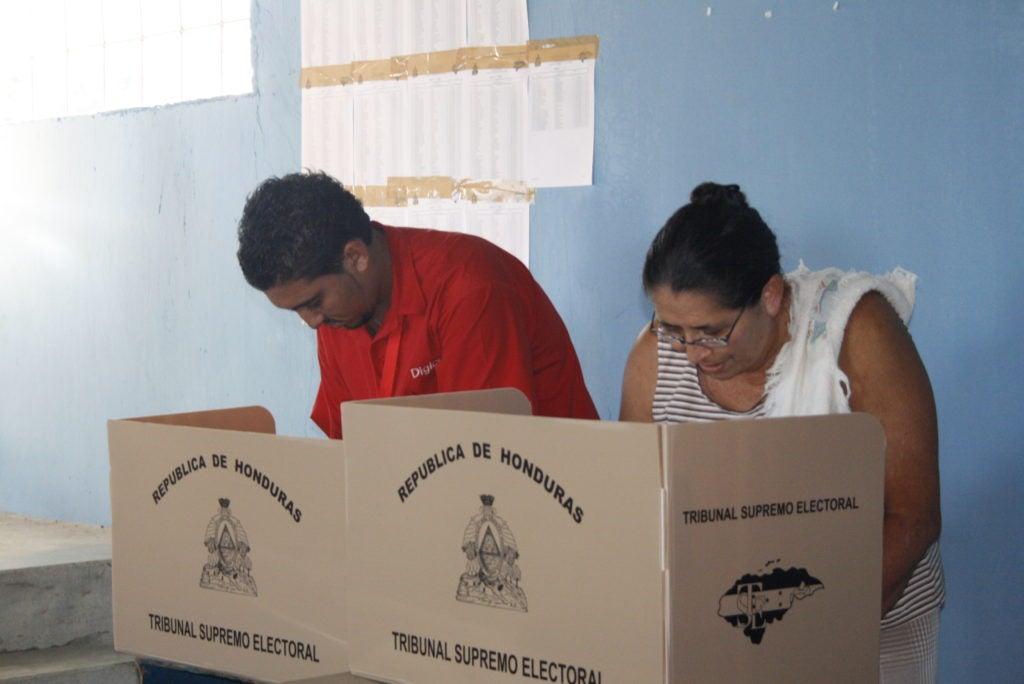 Leyes electorales en Honduras.