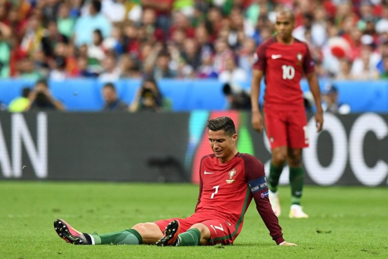 Conoce cual es la lesión de Cristiano Ronaldo y cuanto tiempo estará de baja