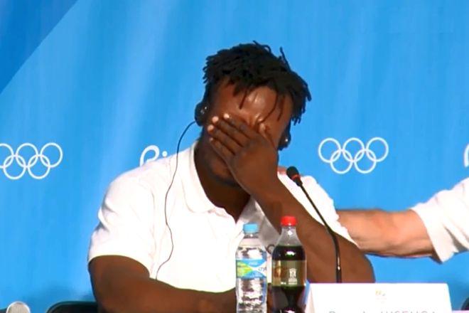 Popole Misenga, el atleta refugiado que llora al contar su historia antes de los JJOO 2016