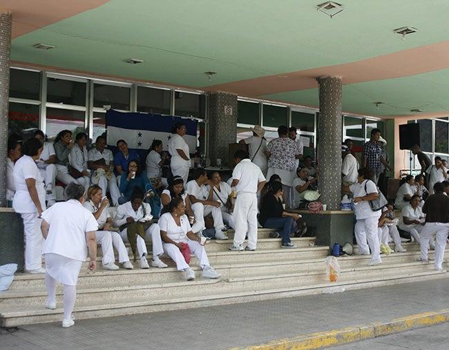 Sustraen 150 mil lempiras de cuentas de enfermeras