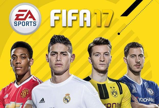 James, Martial, Hazard y Reus, por portada del FIFA 17