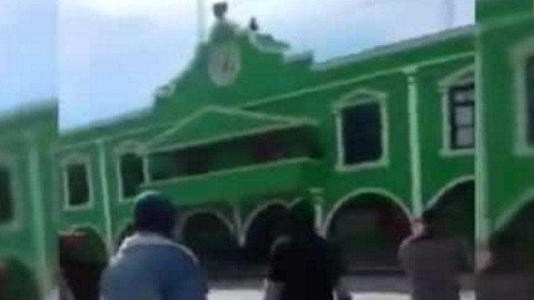 México: Graban cómo disparan a un alcalde en Chiapas
