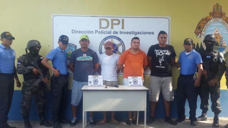 """Varios detenidos y armas decomisadas deja """"Operación Lempira"""""""