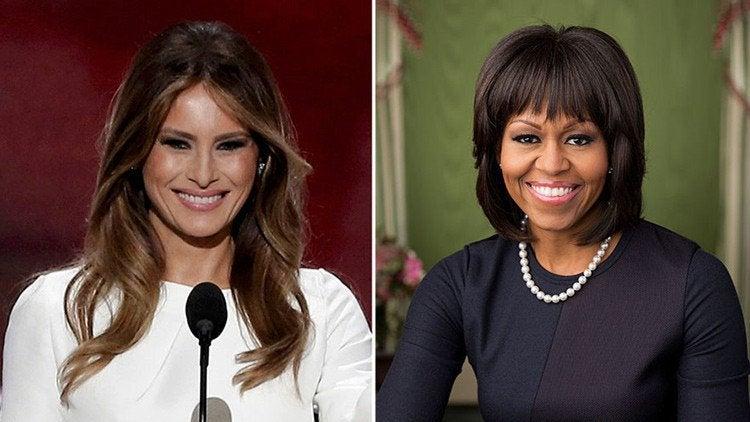 Comprueban plagio de la esposa de Trump a Michelle Obama