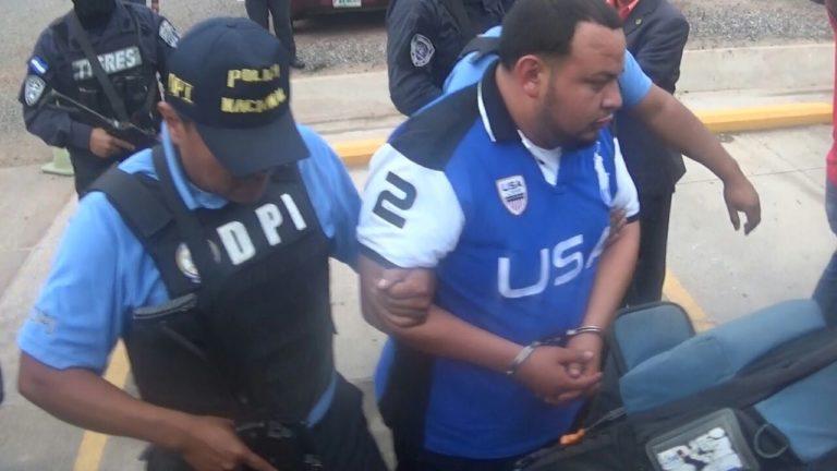 Detienen a Sixto Obed Argueta hondureño pedido por Estado Unidos