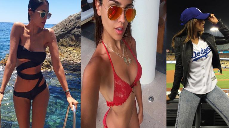 GALERÍA: Conoce a Eiza González, la nueva conquista de Cristiano Ronaldo