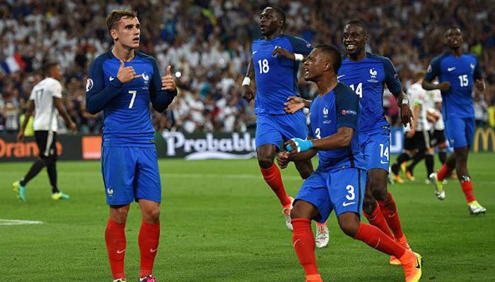 Antoine Griezmann pone a Francia en la final de la Eurocopa 2016