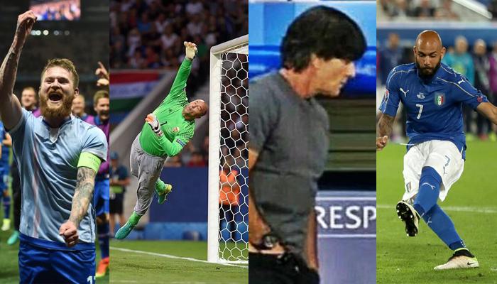 Los actos que se hicieron viral en la Eurocopa 2016