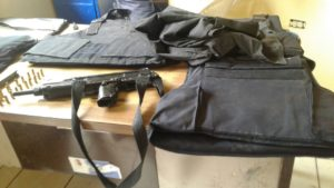 Decomiso de armas.