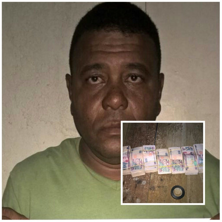 Islas de la Bahía: Detienen a sujeto con 900 mil lempiras