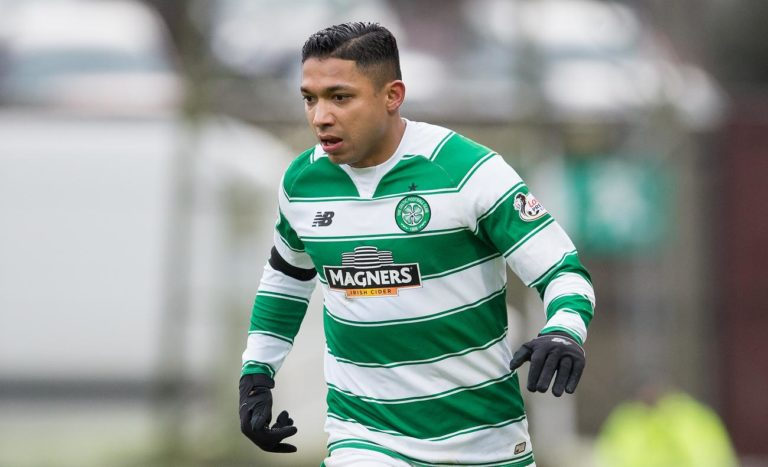 Emilio Izaguirre fue titular en el último amistoso del Celtic