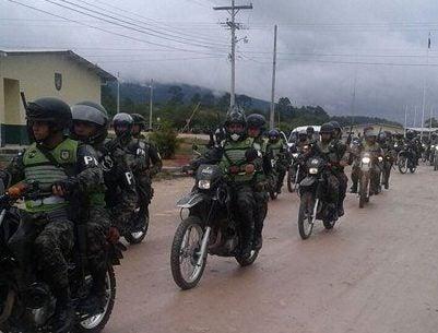 Aparecen motos de la Policía Militar tras varias denuncias