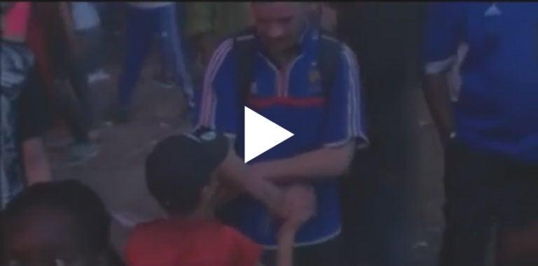 El vídeo de un niño portugués consolando a un fan de Francia que se hizo viral