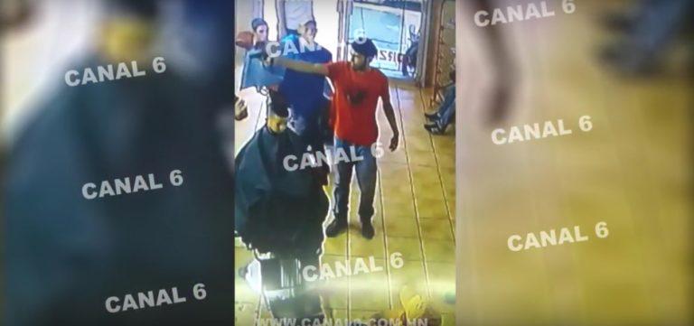 VÍDEO: Así mataron a dueño de barbería y empleado en La Lima
