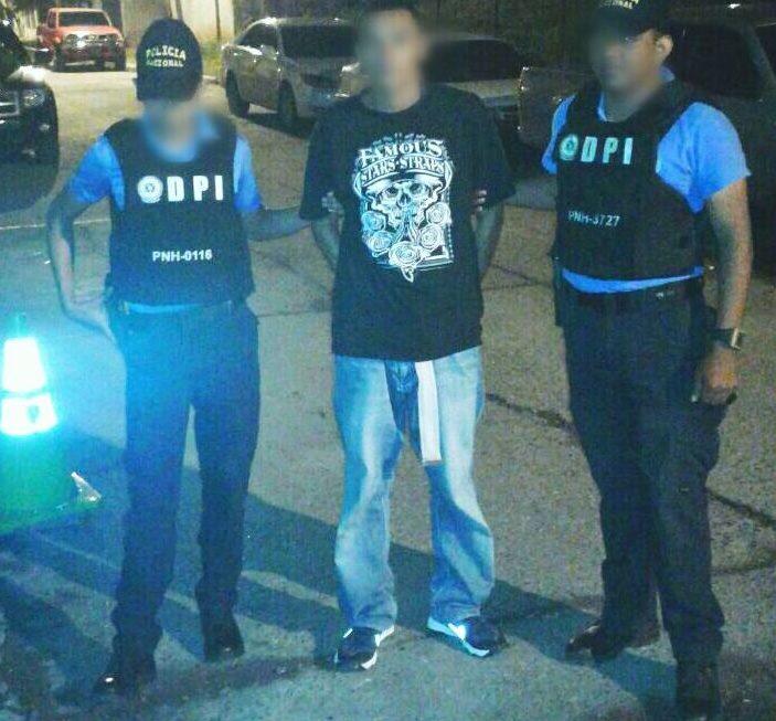 DPI captura a pareja en posesión de drogas en Tegucigalpa