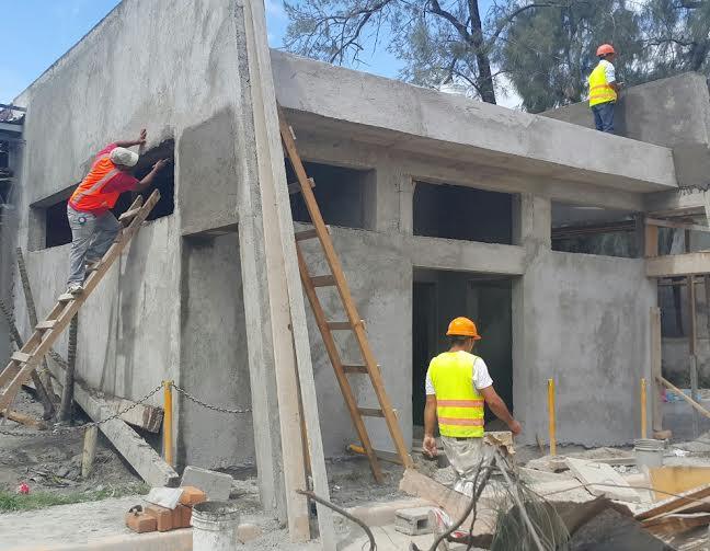 En 80% avanza remodelación del Hospital Regional de Comayagua