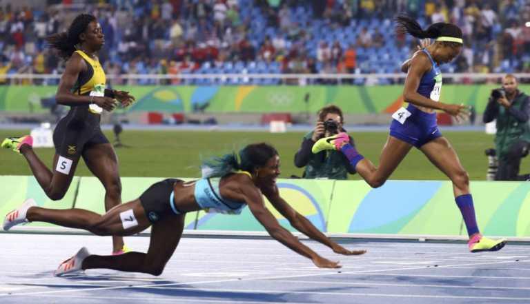 Shaunae Miller se lanzó y se llevó la medalla de oro en Río 2016