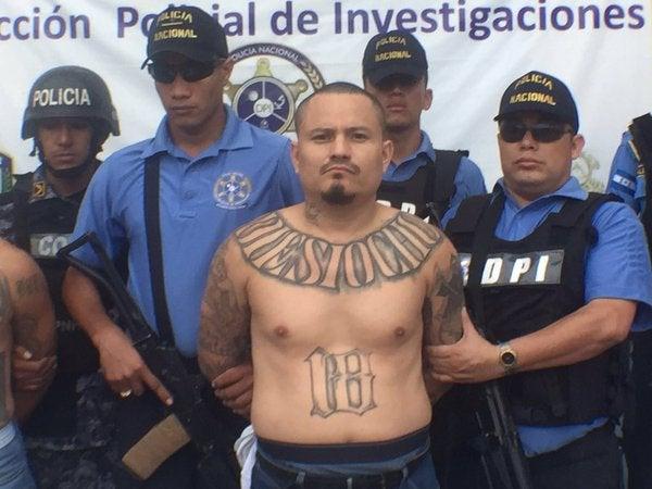 pandilleros fueron detenidos