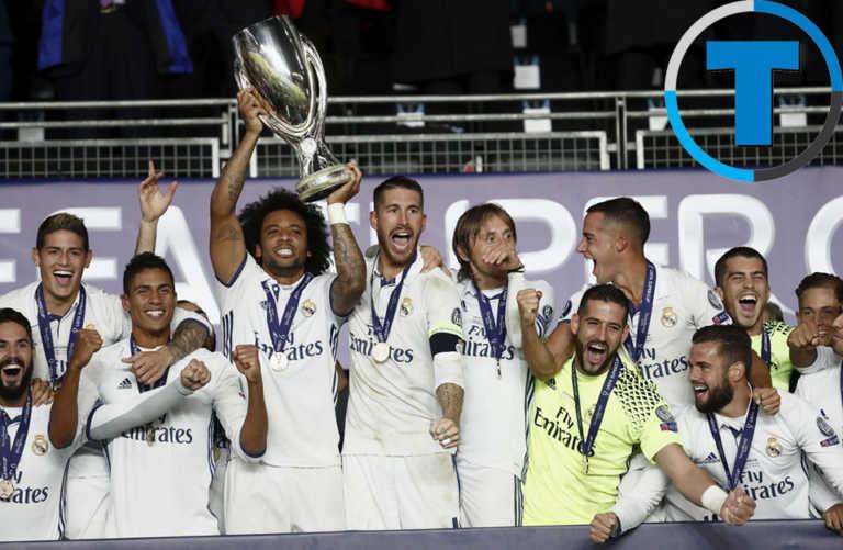 Dani Carvajal le da la Supercopa de Europa al Real Madrid