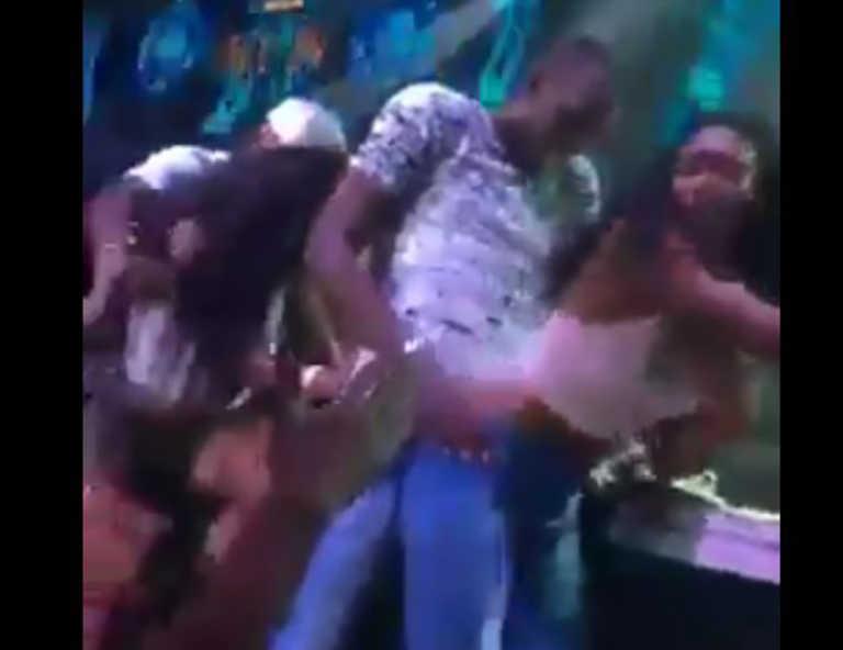 Usain Bolt se le pasó la mano en su celebración de cumpleaños con una chica de 20 años