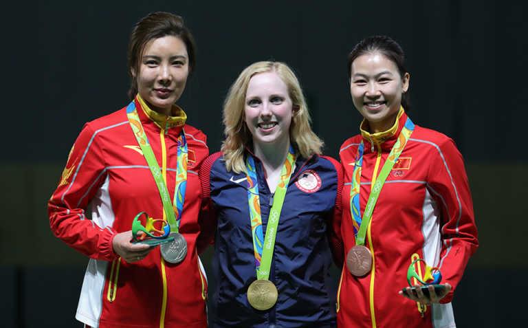 La estadounidense Virginia Thrasher gana el primer oro de Río 2016