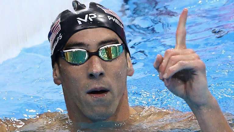 Michael Phelps agiganta su leyenda y se llena de Oro en Río
