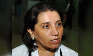 Presidenta de (CMH), Suyapa Figueroa