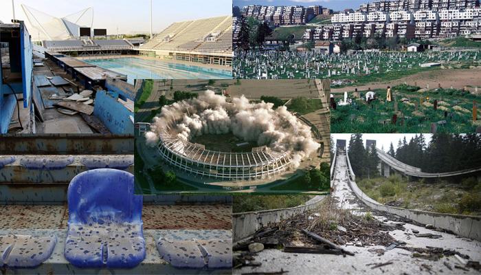En mal estado lucen los escenarios de los últimos Juegos Olímpicos