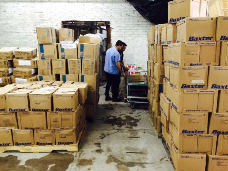 HEU: Ingresan 80 mil frascos de insulina y otros medicamentos vitales