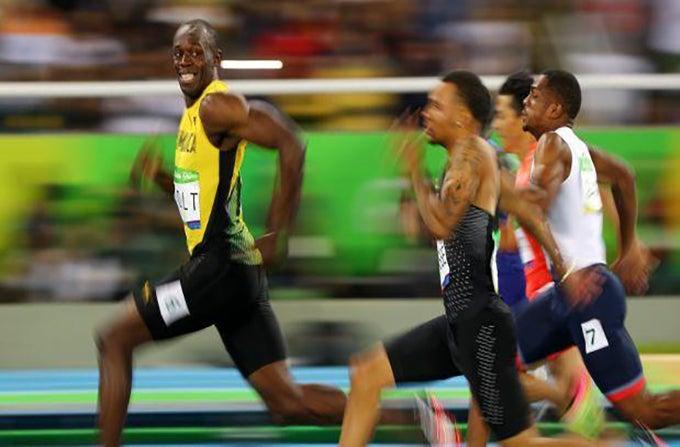 Todos hablan de Usain Bolt por esta fotografía
