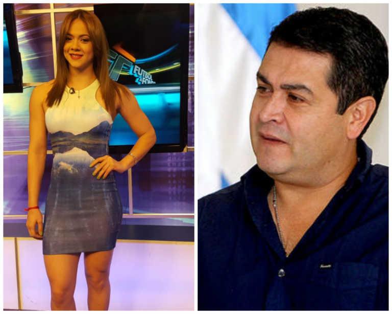 Isabel y su detonante mensaje al presidente de Honduras