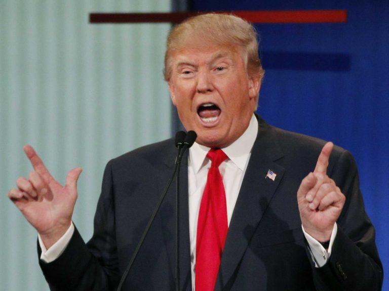Donald Trump fue rescatado de un ascensor y luego criticó a los bomberos