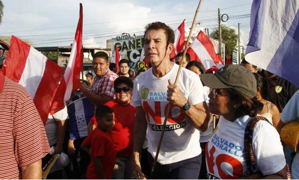 marcha anti reelección, SPS