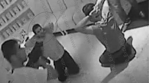 Imágenes del secuestro del hijo de «El Chapo» Guzmán