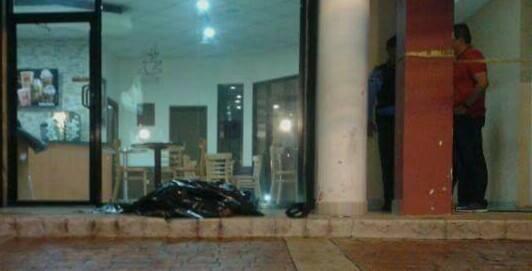 Guardia de seguridad asesinado.