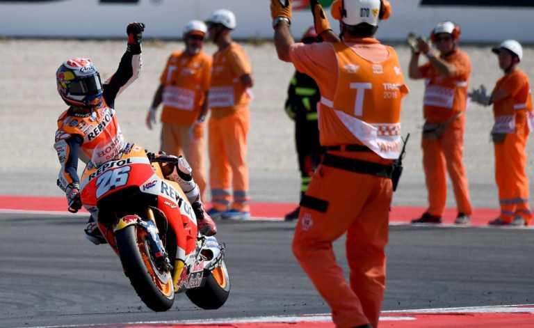 MOTO GP: Dani Pedrosa gana Gran Premio de San Marino y se impone ante Rossi