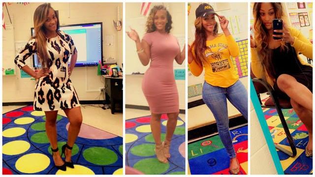 Maestra de primaria causa polémica por ser demasiado 'sexy' y provocativa