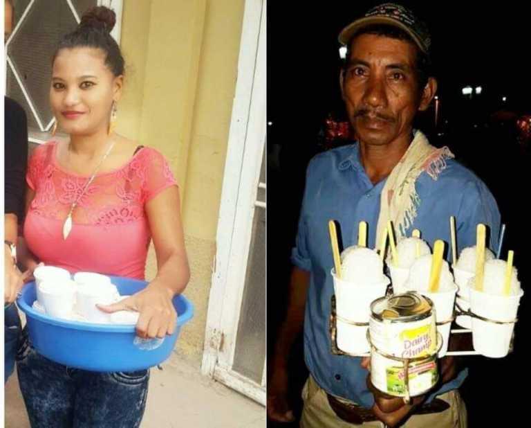 «Te debo mucho papi»: Hondureña orgullosa de ser vendedora