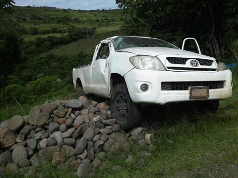 Accidente en el sur de Honduras.
