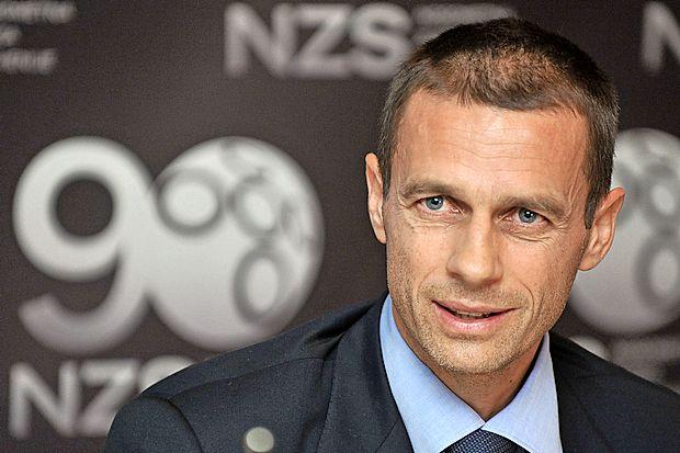 Aleksander Ceferin, elegido nuevo presidente de la UEFA