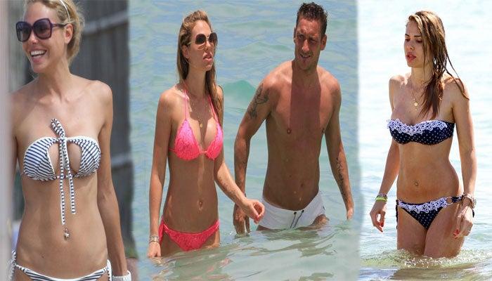 GALERÍA: Ilary Blasi, la pareja de Francesco Totti que ayuda a mantenerlo 'eterno'