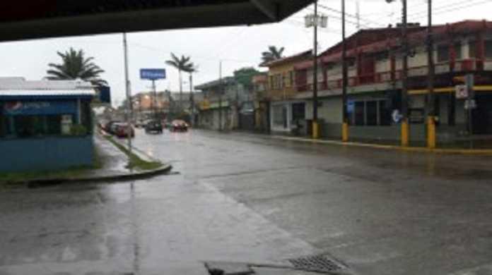 Condiciones inestables en Honduras.