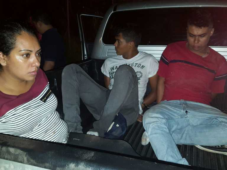 DPI rescata mujer secuestrada y captura sospechosos en tiempo récord