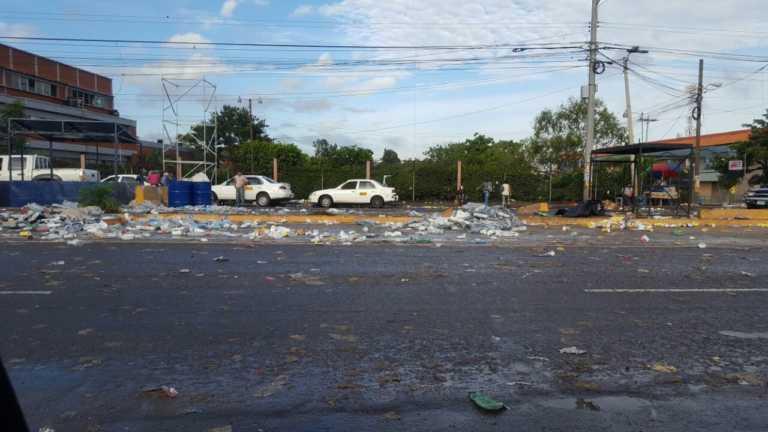 Toneladas de basura deja Carnaval en Tegucigalpa