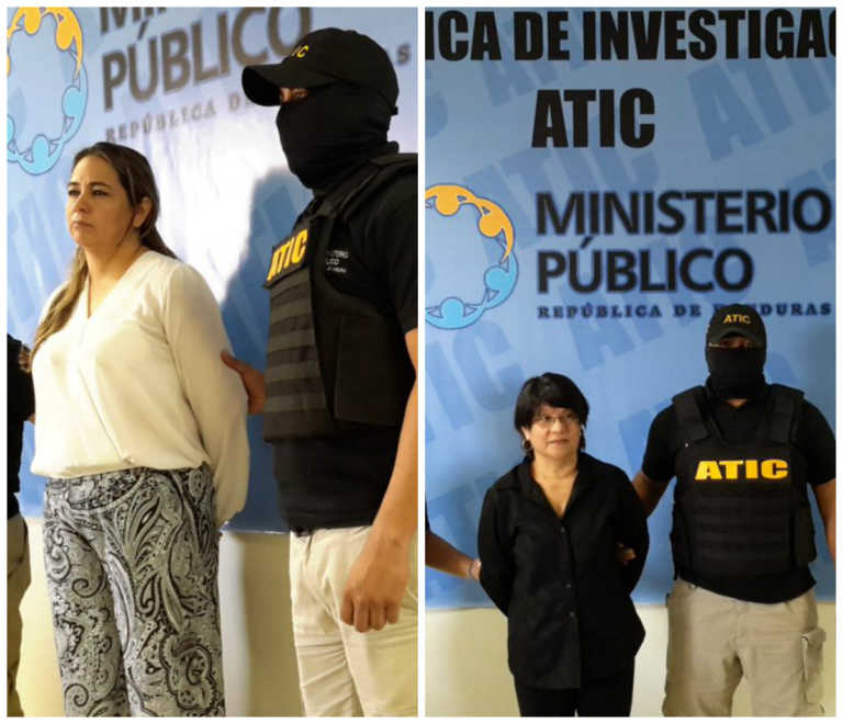 Tegucigalpa: Caen funcionarias de la desaparecida DEI